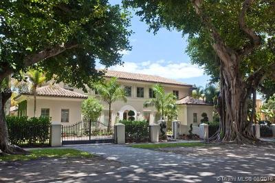 Coral Gables Single Family Home For Sale: 2805 Columbus Blvd