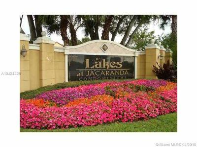 Broward County Condo For Sale: 10725 Cleary Blvd #306