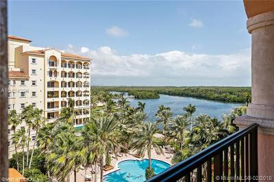 Miami-Dade County Condo For Sale: 13643 Deering Bay Dr #166