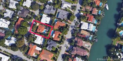 Miami Beach Single Family Home For Sale: 4465 Adams Ave