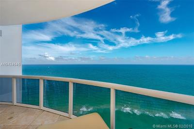 Miami-Dade County Condo For Sale: 18201 Collins Ave #4509