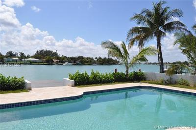 Miami Beach Single Family Home For Sale: 1158 S Biscayne Point Rd