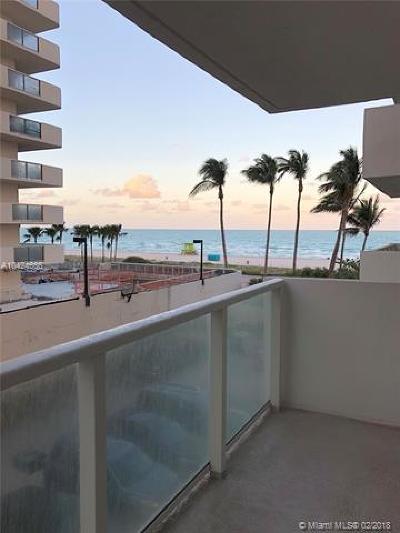 Miami Beach Condo For Sale: 5701 Collins Ave #317