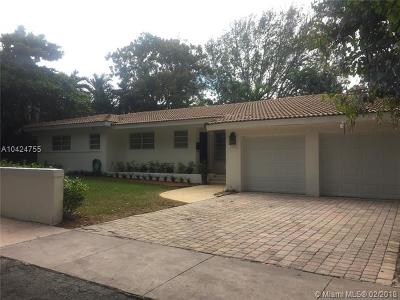 Coral Gables Single Family Home For Sale: 410 Marmore Ave