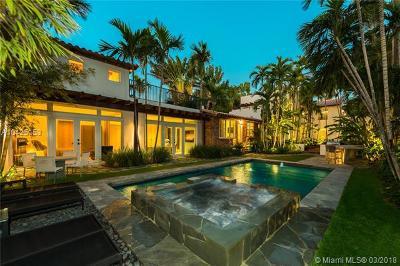 Miami Beach Single Family Home For Sale: 2804 Prairie Ave