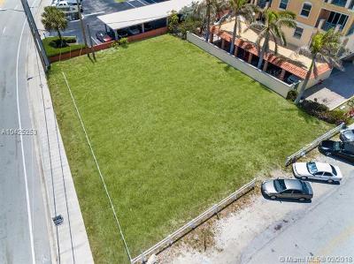 Pompano Beach Residential Lots & Land For Sale: 499 N Ocean Blvd