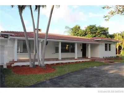 Coral Gables Single Family Home For Sale: 705 San Antonio Av