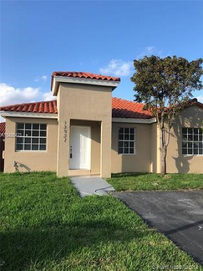 Single Family Home Backup Contract-Call LA: 12927 SW 151st Ln