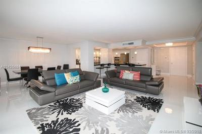 Bal Harbour Condo For Sale: 9801 Collins Ave #9W