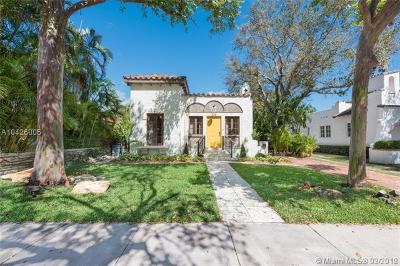 Coral Gables Single Family Home For Sale: 325 Alesio Ave