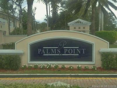 Coral Springs Condo For Sale: 11637 W Atlantic Blvd #1225