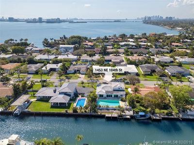 Miami Shores Single Family Home For Sale: 1453 NE 104th St