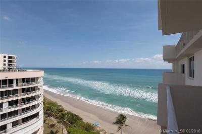 Highland Beach Condo For Sale: 3215 S Ocean Blvd #1010