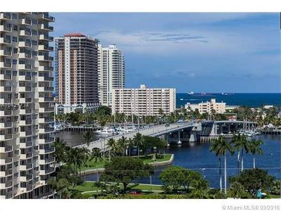 Fort Lauderdale Condo For Sale: 340 Sunset Dr #1506