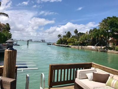 Miami Beach Single Family Home For Sale: 4800 Alton Rd