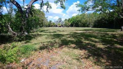 Pinecrest Residential Lots & Land For Sale: 7601 SW 122nd St