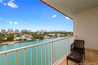 Bay Harbor Islands Condo For Sale: 9341 E Bay Harbor Dr #PHA