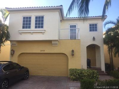 Aventura Single Family Home For Sale: 21152 NE 31st Pl