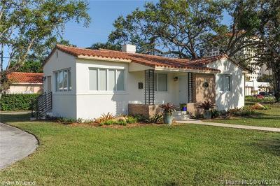 Coral Gables Single Family Home For Sale: 707 Ponce De Leon Blvd