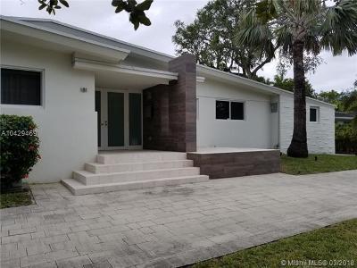 Miami FL Single Family Home For Sale: $1,900,000