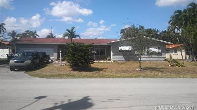 South Miami Single Family Home For Sale: 6130 SW 64 Ave