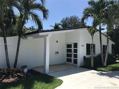 South Miami Single Family Home For Sale: 6478 Sunset Dr/SW 72 St