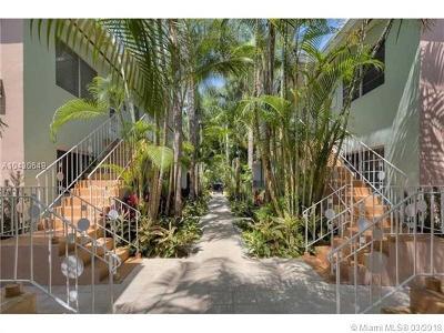 Miami Beach Condo For Sale: 1117 Meridian Av #7-1117