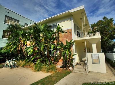 Miami Beach Condo For Sale: 1515 West Ave #8