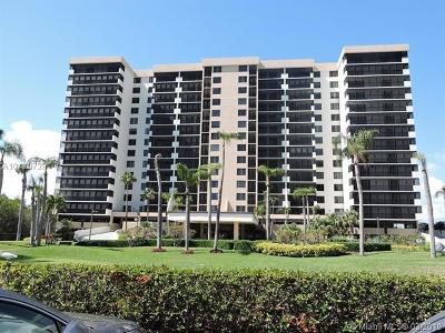 Highland Beach Condo For Sale: 3420 S Ocean Blvd #9N