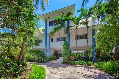 Key Biscayne Single Family Home For Sale: 251 Harbor Dr