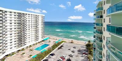 Hollywood Condo For Sale: 3801 S Ocean Dr #14Z