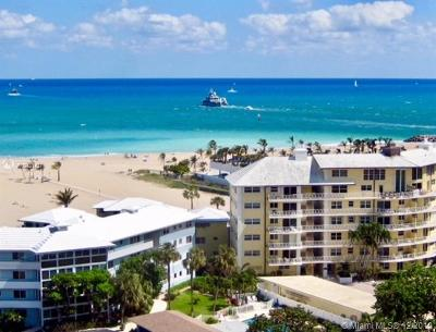 Fort Lauderdale Condo For Sale: 1900 S Ocean Dr #1405