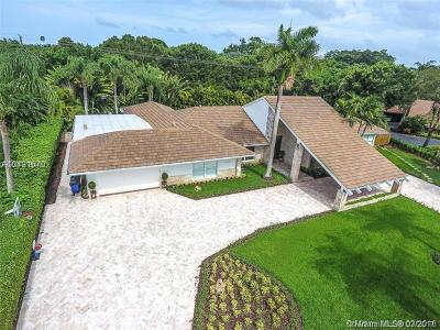 Coral gables Single Family Home For Sale: 11821 SW 57th Ct