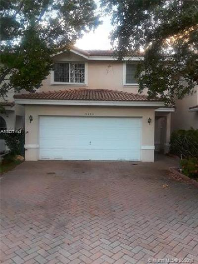 Sunrise Single Family Home For Sale: 9450 NW 55th St