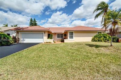 Coral Springs Single Family Home For Sale: 10813 NW 9th Manor
