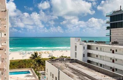Miami Beach Condo For Sale: 345 Ocean Dr #806
