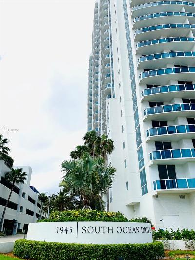 Hallandale Condo For Sale: 1945 S Ocean Dr #1205