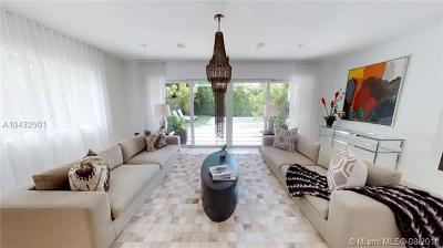 Miami Beach Single Family Home For Sale: 5815 N Bay Rd