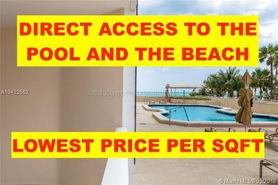 Miami Beach Condo For Sale: 6423 Collins Ave #203