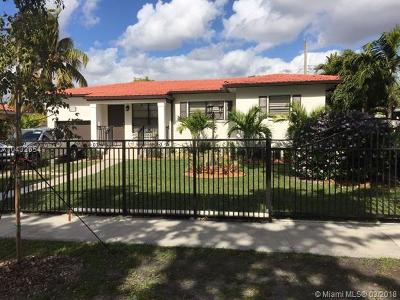 West Miami Single Family Home For Sale: 6111 SW 13th Ter