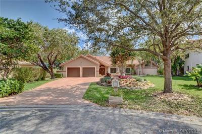 Coral Springs Single Family Home For Sale: 10008 Vestal Pl