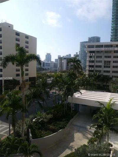 Miami Beach Condo For Sale: 800 West Ave #637