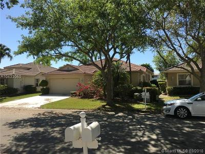 Coconut Creek Single Family Home Active With Contract: 4843 NW 54th Ave