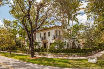 Coral Gables Single Family Home For Sale: 2720 Cardena Street