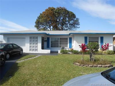 Tamarac Single Family Home For Sale: 8417 NW 58th Pl