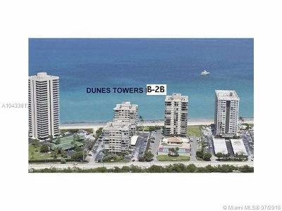 Riviera Beach Condo For Sale: 5480 N Ocean Dr #B2B