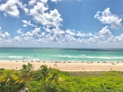 Miami Beach Condo For Sale: 5601 Collins Ave #606