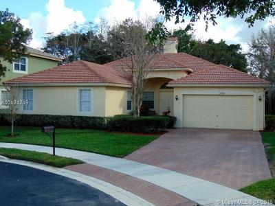 Coconut Creek Single Family Home For Sale: 7104 NW 48th Ln