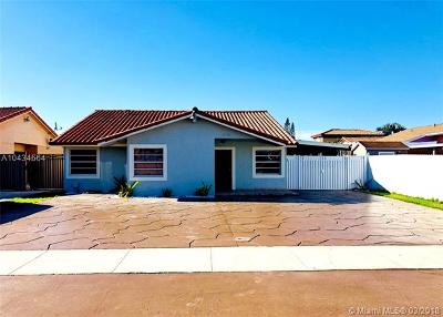 Single Family Home For Sale: 13736 SW 16th Ter