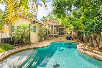 Coconut Grove Single Family Home For Sale: 3775 Loquat Ave
